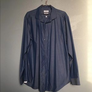 Men's XL Calvin Klein Dress Shirt NWOT